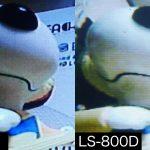 FPVゴーグルEV800/LS-800D&モニタLCD5802D遅延比較